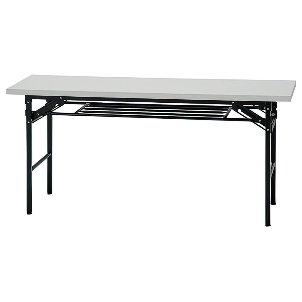折りたたみテーブル IKシリーズ W1500×D600×H700mm 会議机 長机 ホワイト ミーティングテーブル 会議テーブル オフィス家具