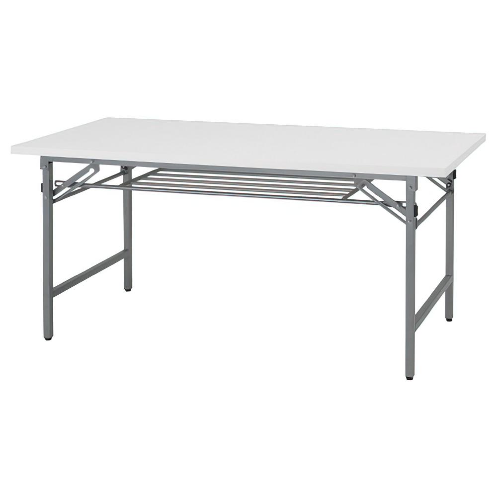 折りたたみテーブル W1500×D600×H700mm 会議机 長机 白 ミーティングテーブル 会議テーブル 折畳 オフィス家具