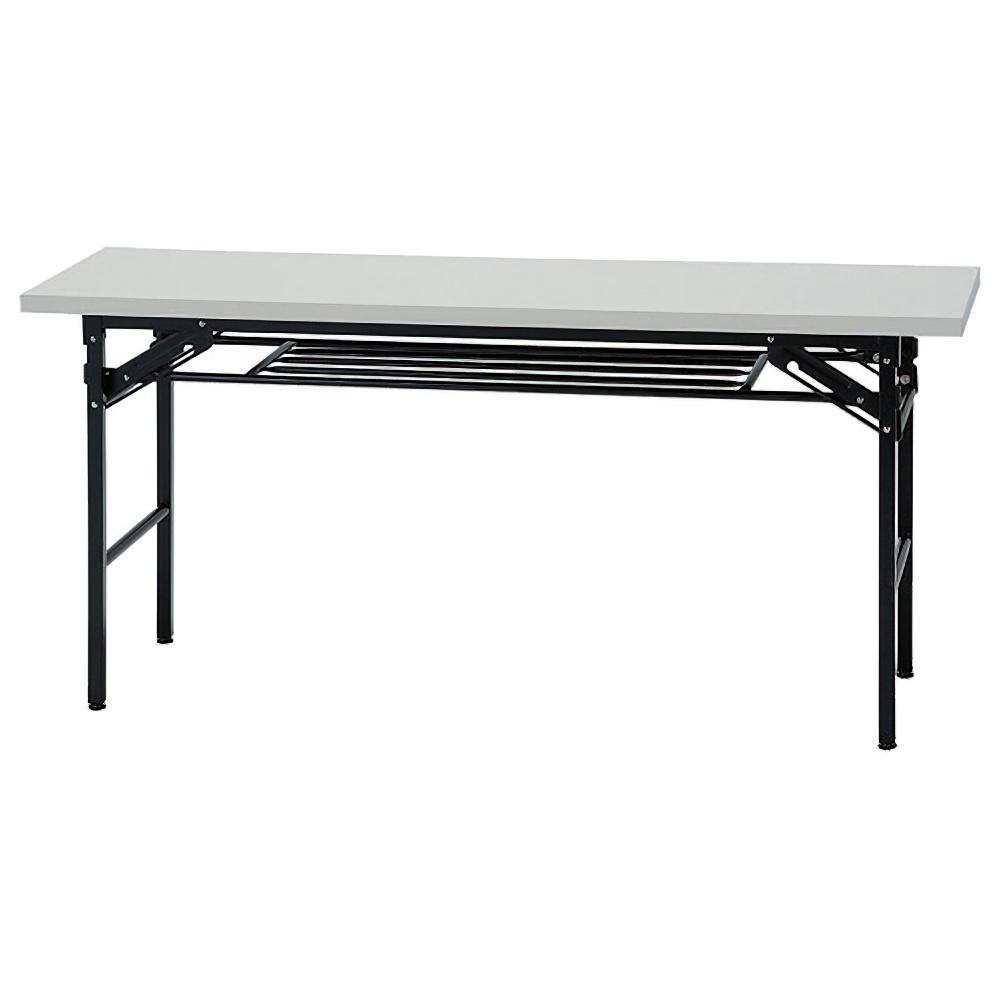 折りたたみテーブル IKシリーズ W1800×D450×H700mm 会議机 長机 ホワイト ミーティングテーブル 会議テーブル オフィス家具