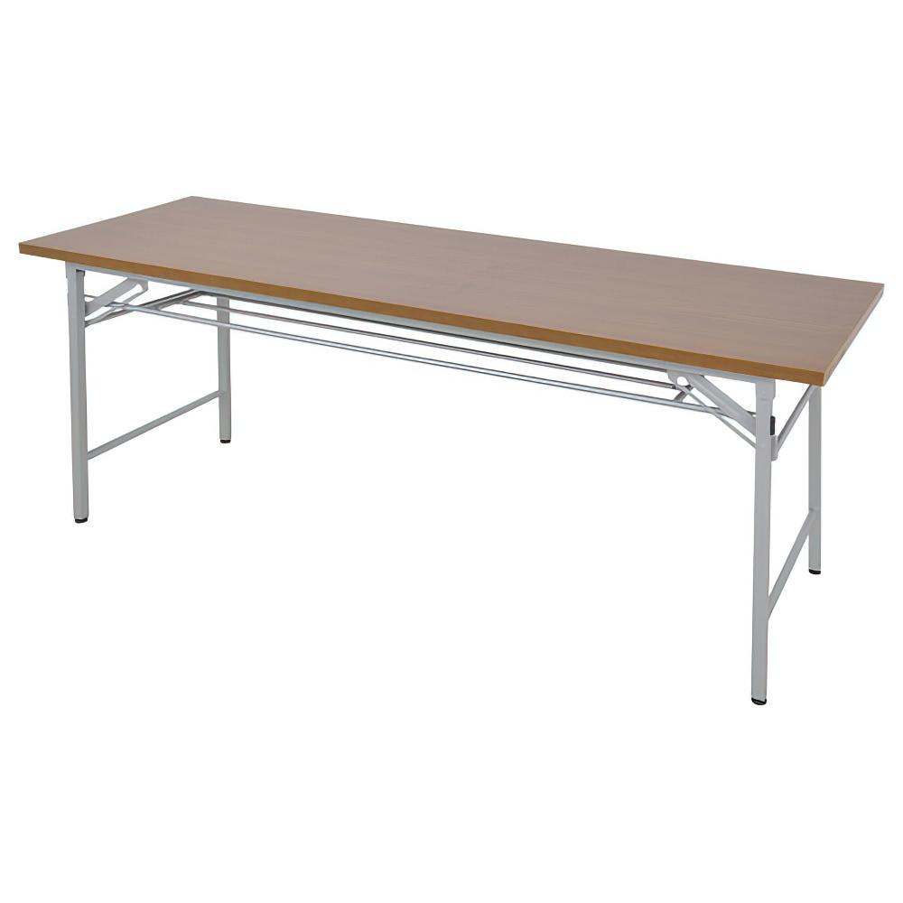 折りたたみテーブル W1800×D450×H700mm 会議机 長机 ミーティングテーブル 会議テーブル 折畳 オフィス家具