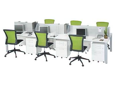 フリーアドレステーブル 設置例(IUTS-2112:フリーアドレステーブル IUTSシリーズ)