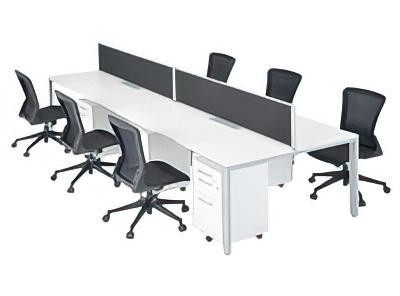フリーアドレステーブル 設置例(IUTS-3612:フリーアドレステーブル IUTSシリーズ)