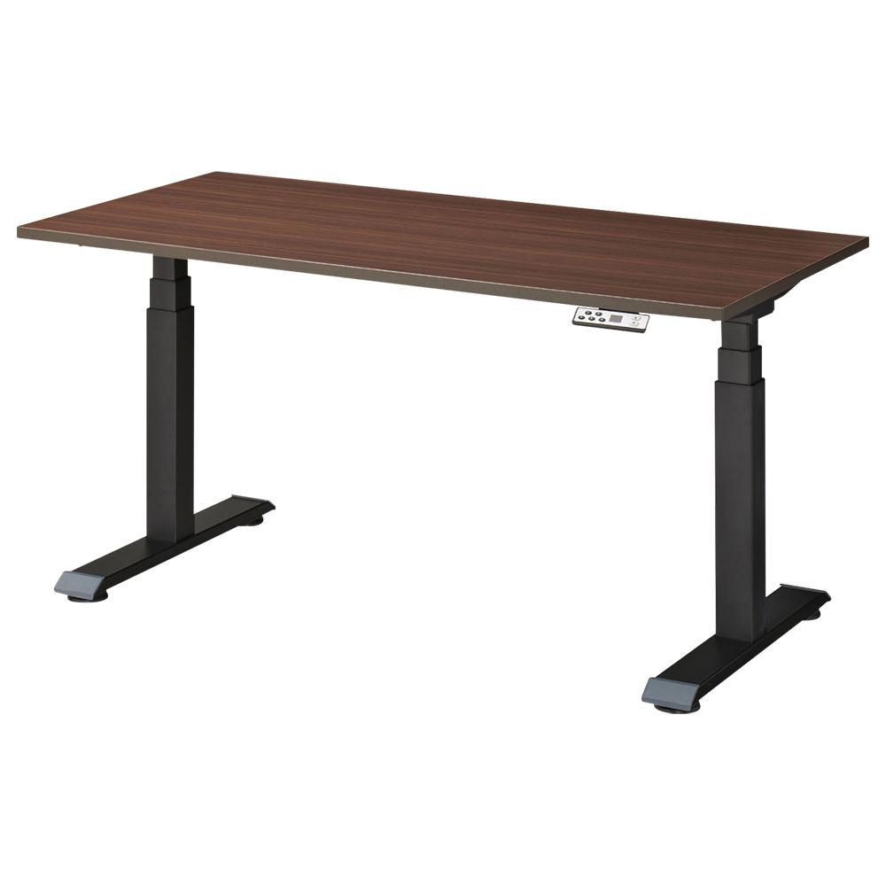 オフィス用電動昇降式テーブル W1500 D750 H650-1300  その他木目