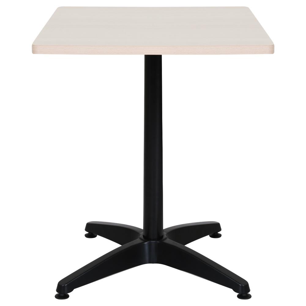 オフィス用ALetto アレット スクエアテーブル W600 D600 H720  メープル