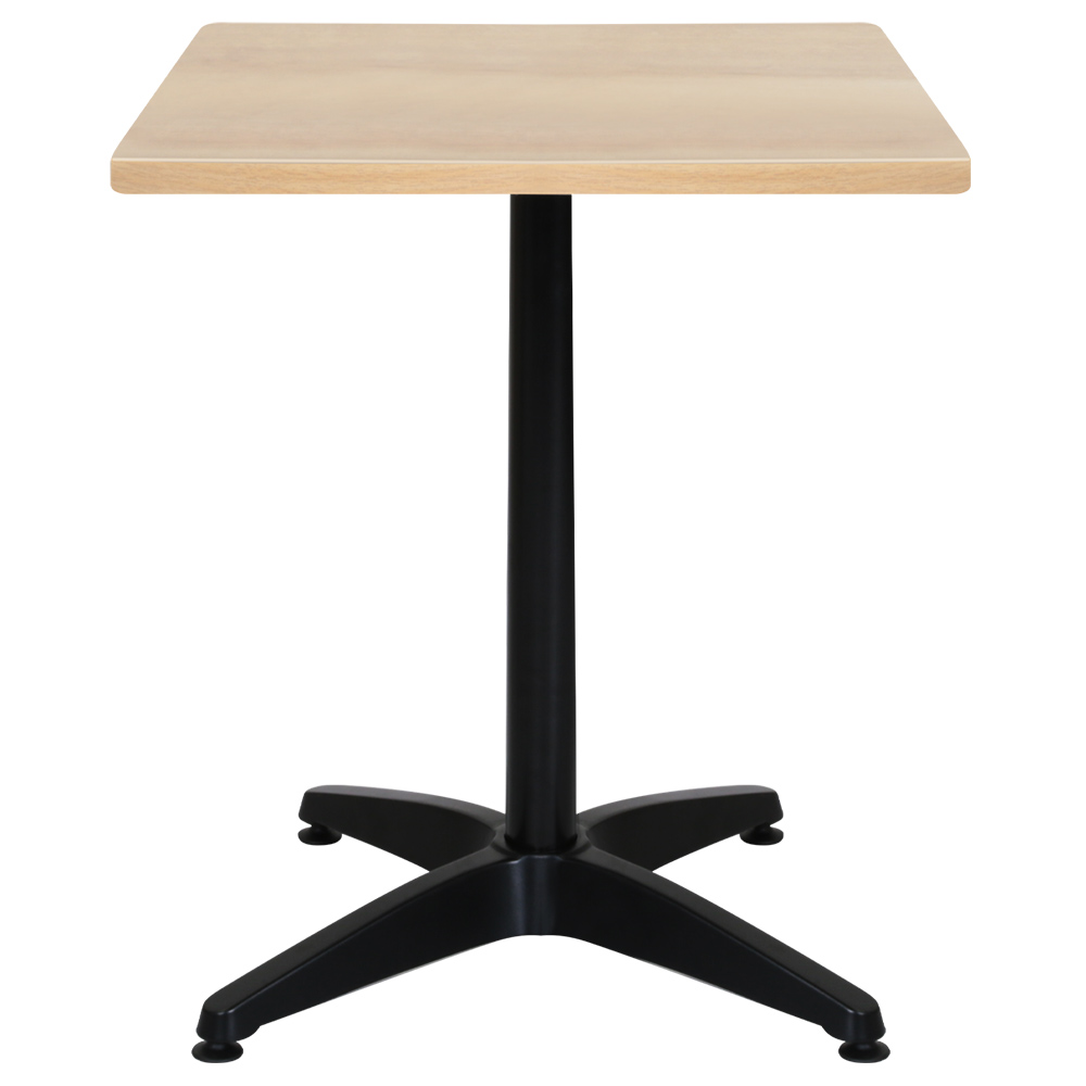 オフィス用ALetto アレット スクエアテーブル W600 D600 H720  その他木目
