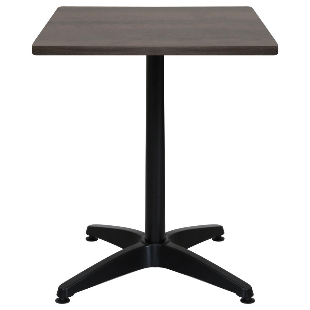 オフィス用ALetto アレット スクエアテーブル W600 D600 H720  ダークブラウン
