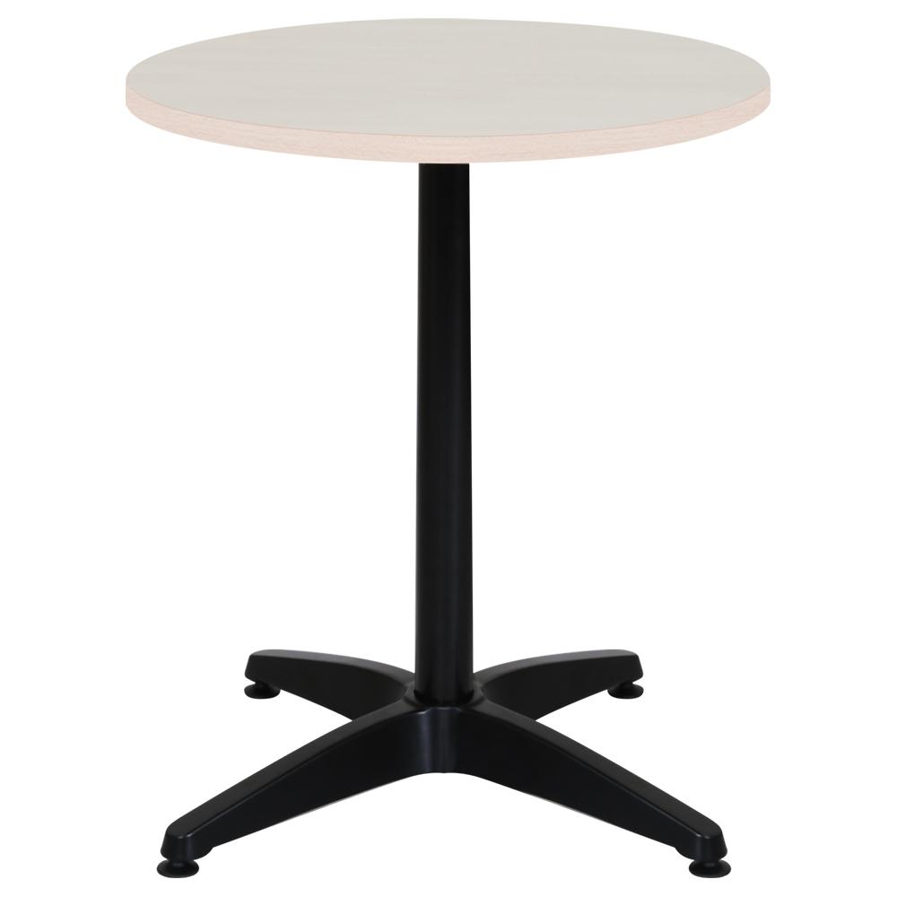 オフィス用ALetto アレット ラウンドテーブル W600 D600 H720  メープル