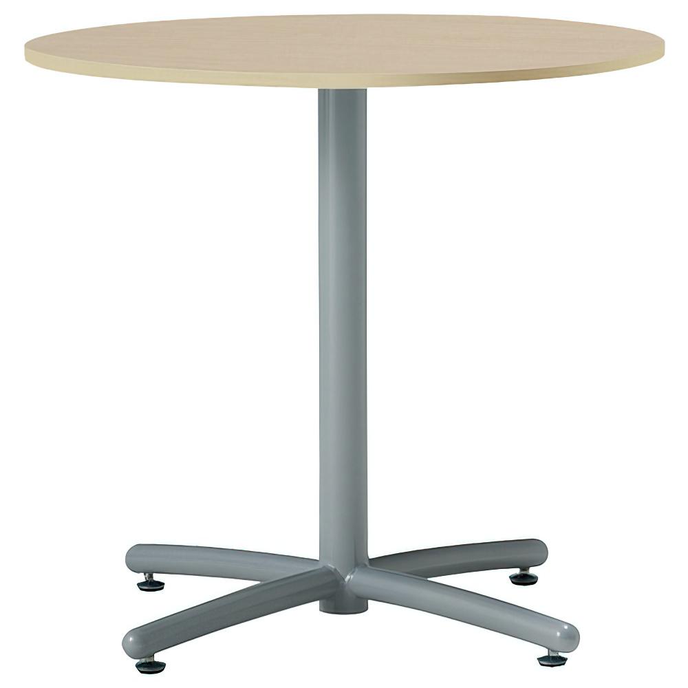 ラウンジ丸テーブル 750φ×H700mm ミーティングテーブル ナチュラル 丸テーブル リフレッシュテーブル オフィス家具