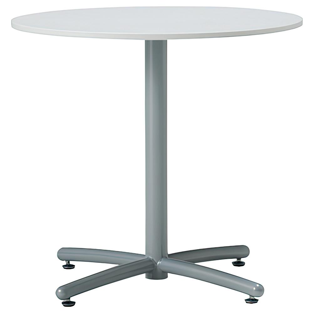 ラウンジ丸テーブル 750φ×H700mm ミーティングテーブル ホワイト 丸テーブル リフレッシュテーブル オフィス家具