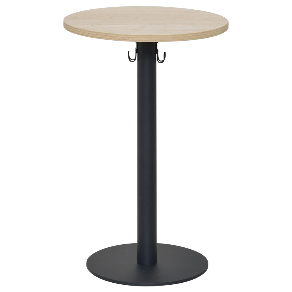オフィス用リフレッシュサイドテーブル W400 D400 H630  ナチュラル
