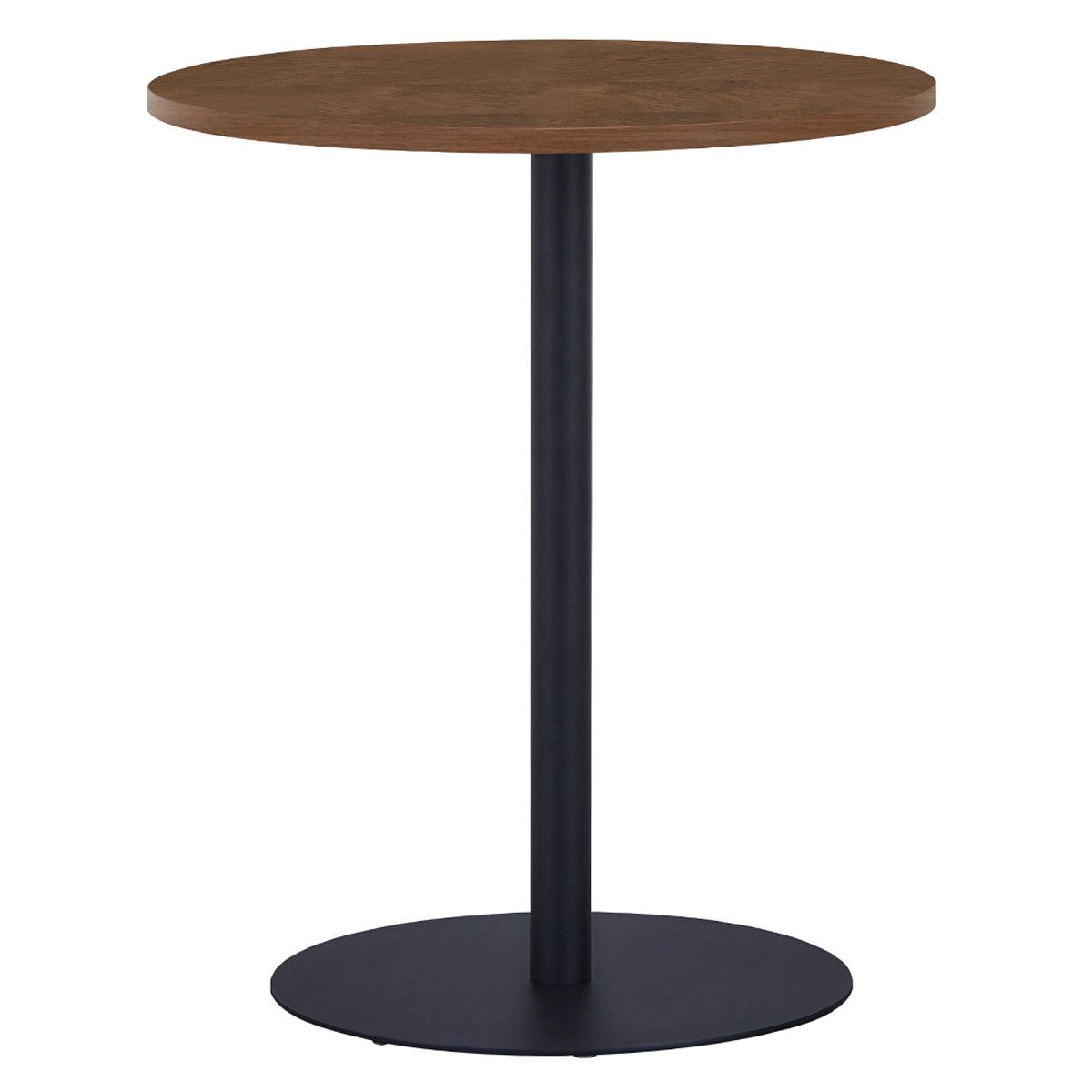 オフィス用リフレッシュテーブルIII ブラック脚タイプ W600 D600 H700  その他木目