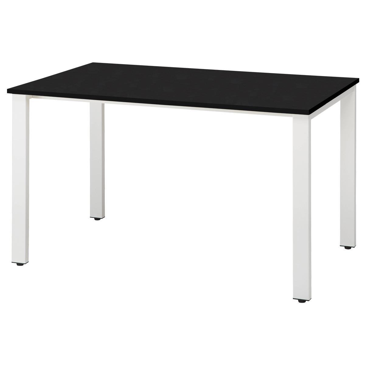 オフィス用ミーティングテーブル REVシリーズ W1200 D750 H720  ブラック