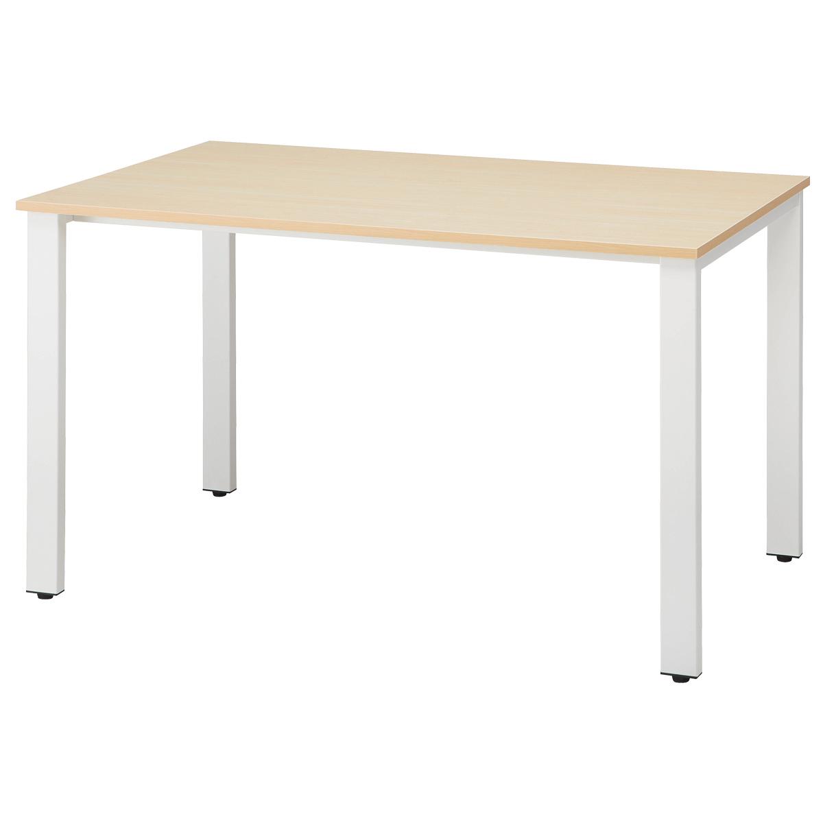 オフィス用ミーティングテーブル REVシリーズ W1200 D750 H720  ナチュラル