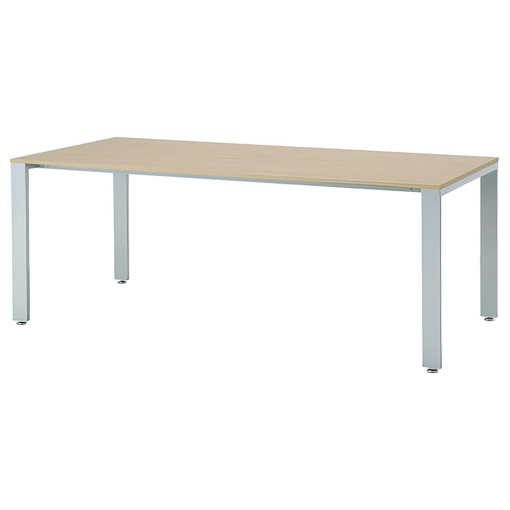 ミーティングテーブル UTSシャープタイプ W1800×D750×H700mm 会議机 グループデスク ナチュラル 会議テーブル オフィス家具