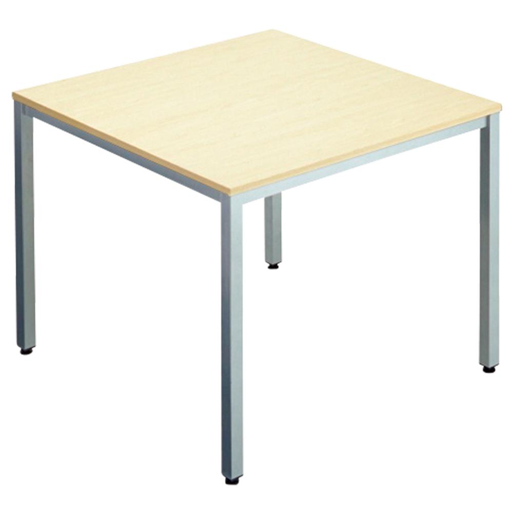 オフィス用エランサ 角型ミーティングテーブル W900 D900 H700  ナチュラル