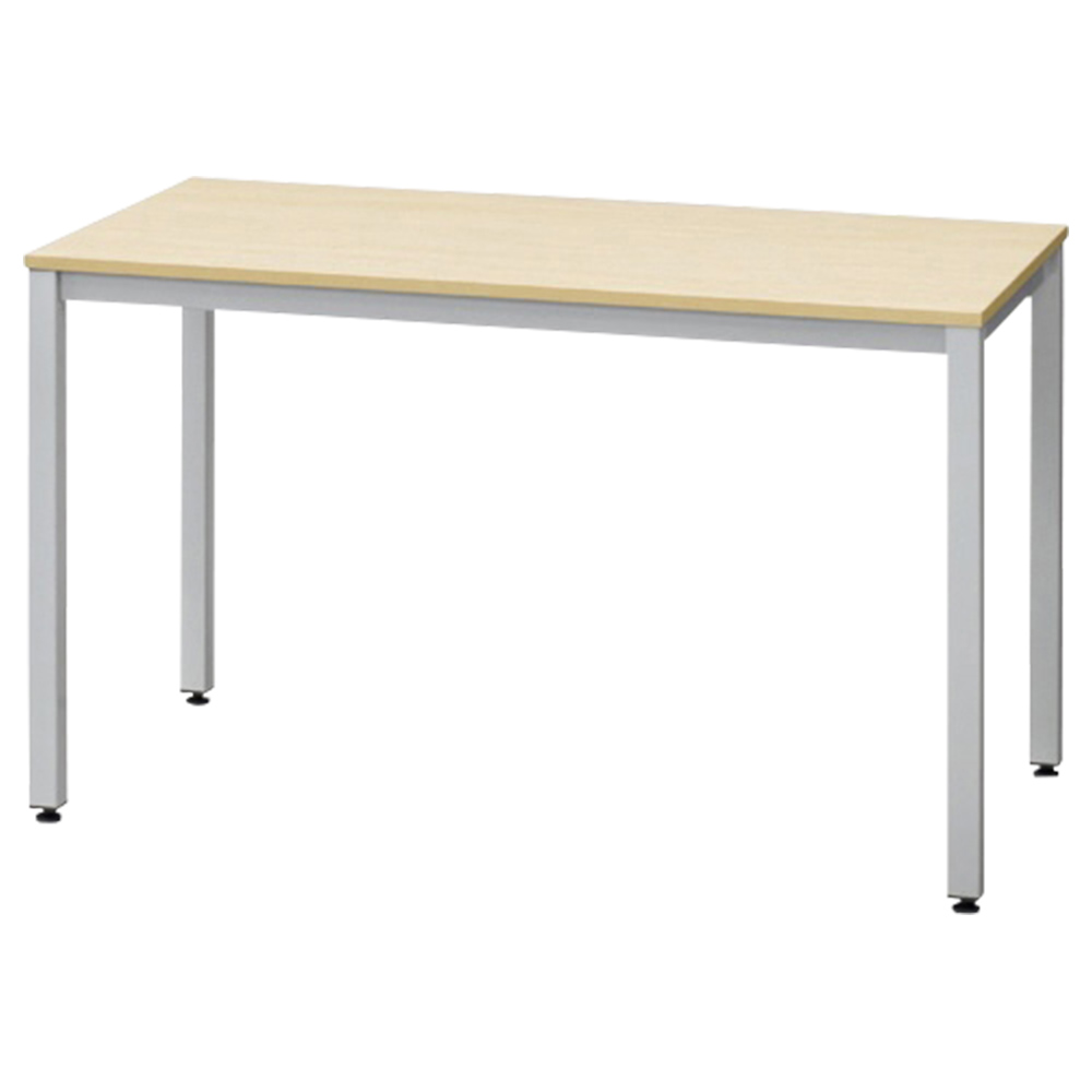 オフィス用エランサ スクエアテーブル W1200 D600 H700  ナチュラル
