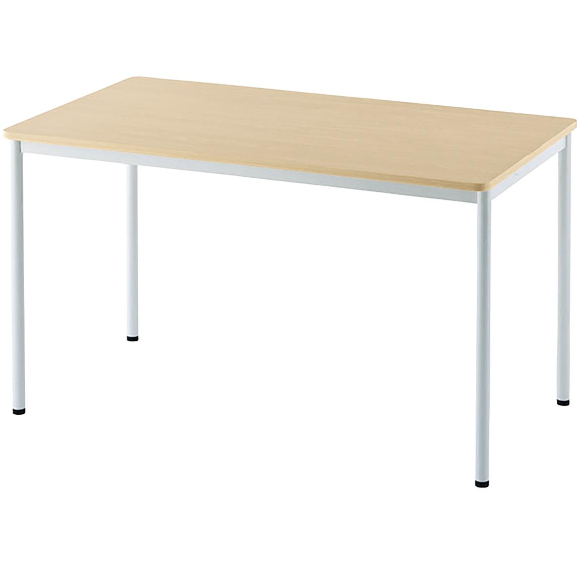 シンプルテーブル ラディーシリーズ W1200 D700 H700 ナチュラル テーブル ミーティングテーブル RYシリーズ オフィス家具 オフィステーブル 会議用テーブル フ
