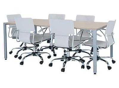 ミーティングテーブル 設置例(TK-1875:ミーティングテーブル TKシャープタイプ)
