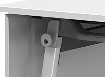 IR-FT89Z1860:IRIS Z脚スタッキングテーブル