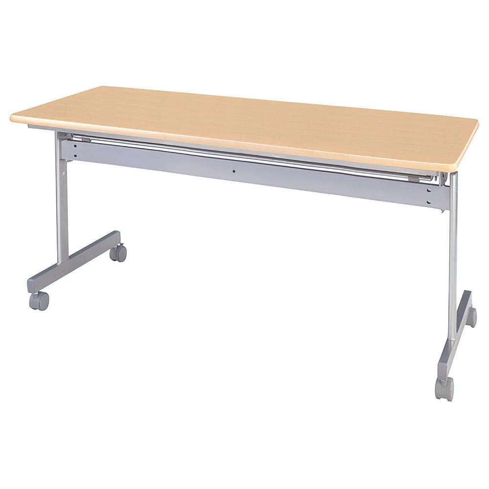 オフィス用スタッキングテーブル W1500 D600 H700  ナチュラル