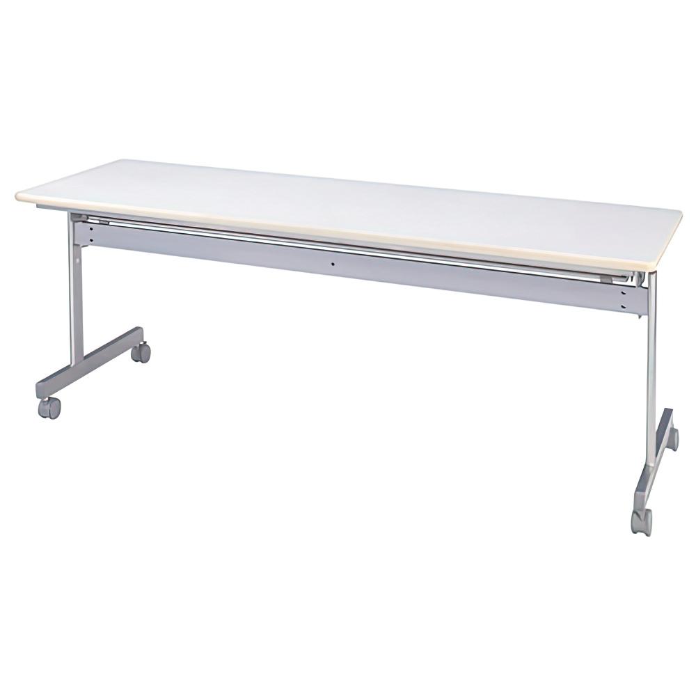 オフィス用スタッキングテーブル W1800 D600 H700 ホワイト テーブル スタッキングテーブル IKS