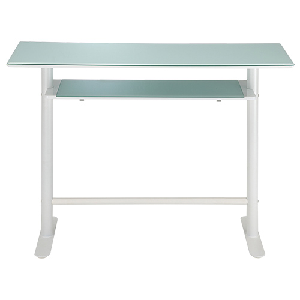 ロイス カウンターテーブル W1200×D450×H900mm ホワイト ハイテーブル カウンター