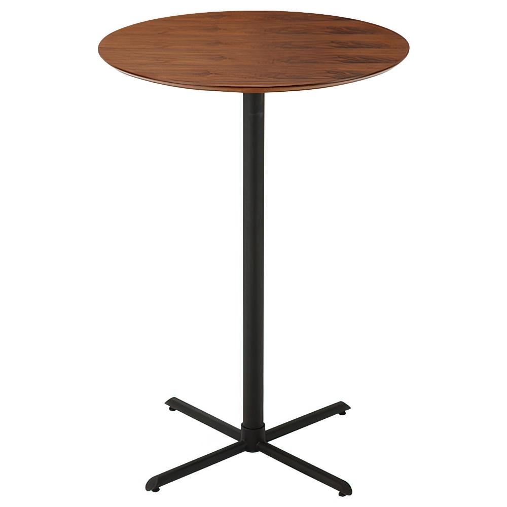 カウンターテーブル W700×D700×H1000mm ウォルナット ハイテーブル カウンター
