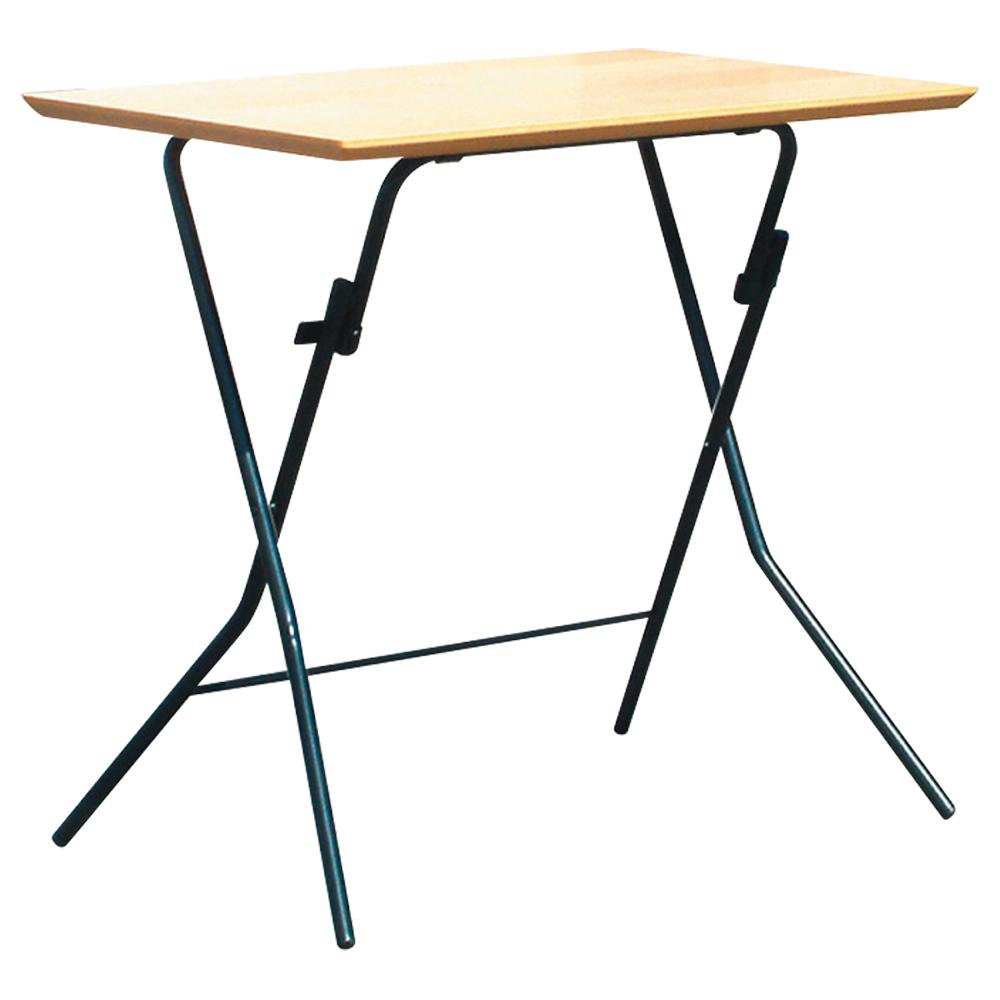 オフィス用スタンドタッチテーブル W750 D500 H700  ナチュラル