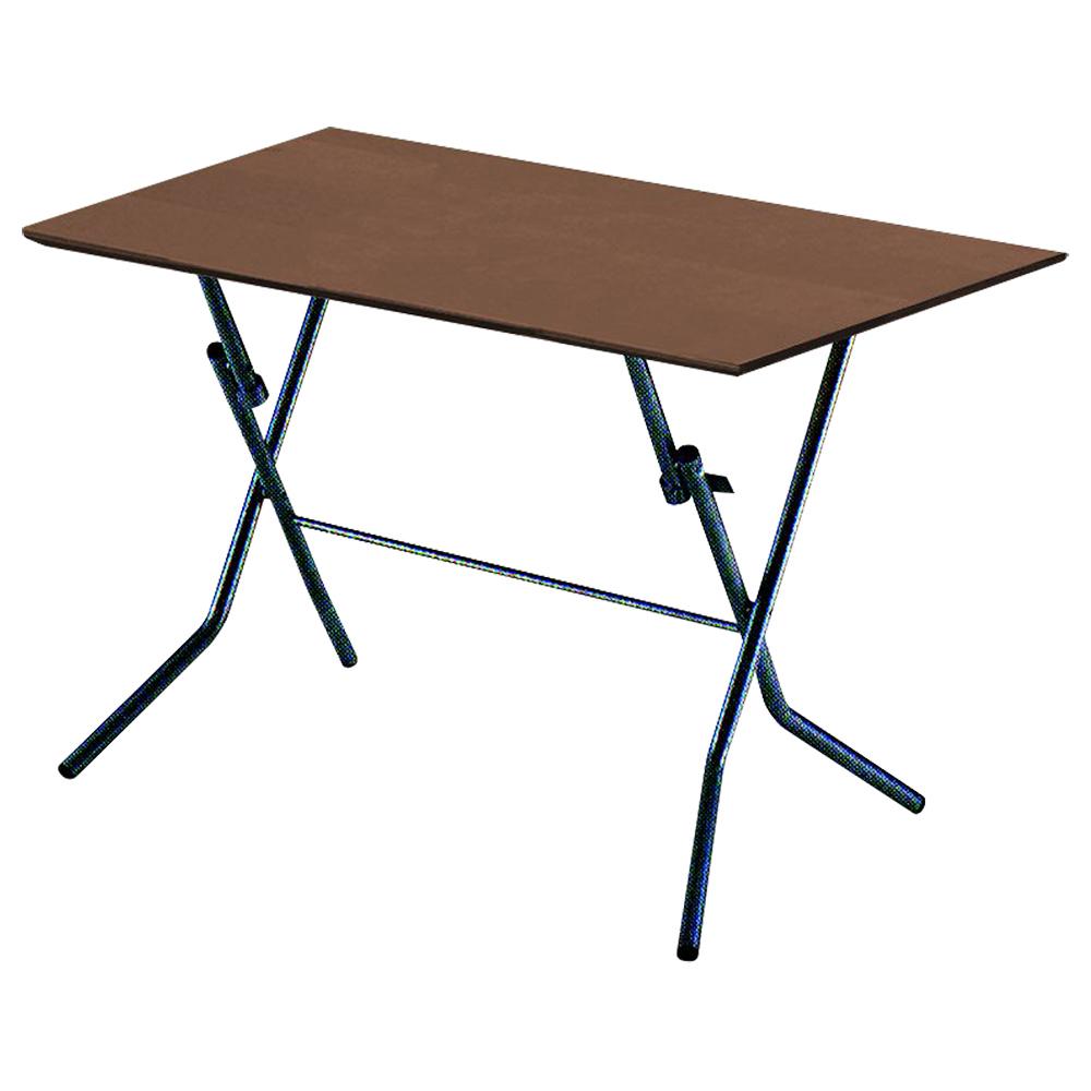 スタンドタッチテーブル W900 D600 H700 ダークブラウン テーブル 用途別ワークテーブル 折りたたみタイプ オフィス家具 オフィステーブル 会議用テーブル オフ
