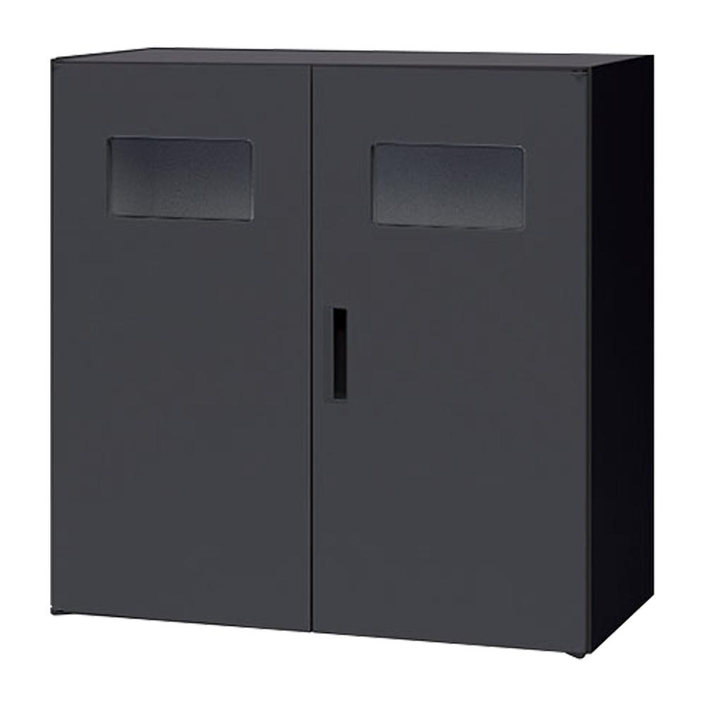 トラッシュボックス CWシリーズ W899 D450 H900 ブラック 収納家具 その他収納家具 NAIKIその他収納庫 収納家具 ロッカー キャビネット オフィス ゴミ カラー デ