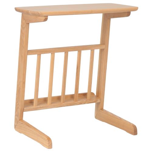 アルマ サイドテーブル W550×D360×H590mm ナチュラル ミニテーブル ソファーサイド サイドラック 木目 大川家具 オフィス家具