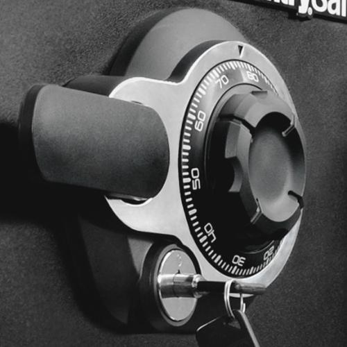 ダイヤル式 ビッグボルト耐火・耐水金庫 22.8L(W415×D491×H348)
