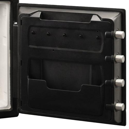 テンキー式 ビッグボルト2時間耐火・耐水金庫 33.6L(W415×D491×H453)
